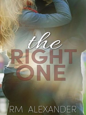 cover image of The Right One