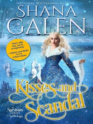 cover image of Kisses and Scandal