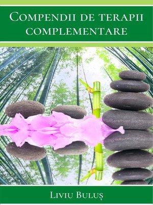 cover image of Compendii de terapii complementare