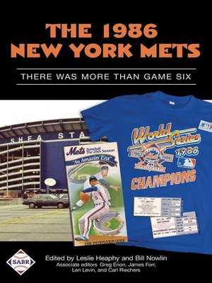 cover image of The 1986 New York Mets