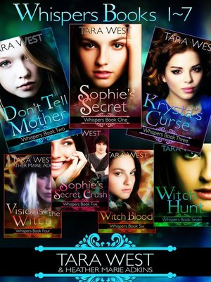 cover image of Whispers Books 1-7