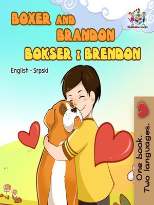 cover image of Boxer and Brandon (Serbian bilingual children's book)