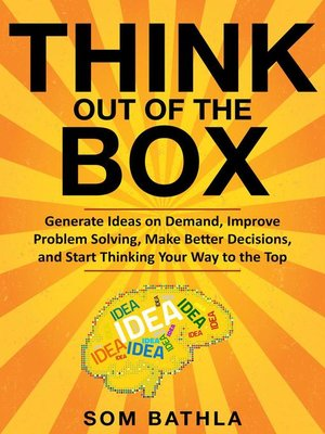 cover image of Think Out of the Box
