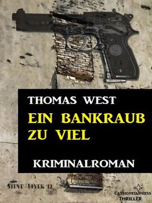cover image of Ein Bankraub zu viel
