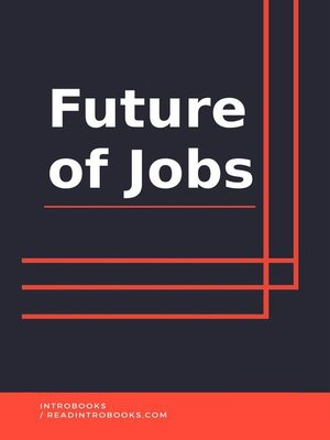 cover image of Future of Jobs