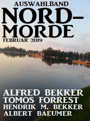cover image of Auswahlband Nord-Morde Februar 2019