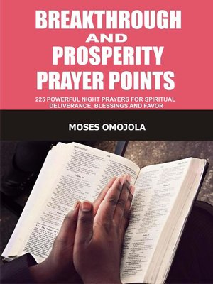 cover image of Breakthrough and Prosperity Prayer Points