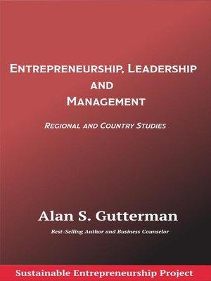 cover image of Entrepreneurship, Leadership and Management
