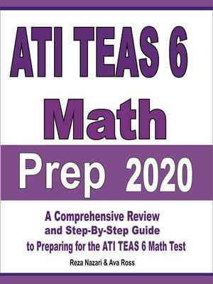 cover image of ATI TEAS 6 Math Prep 2020
