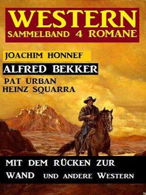cover image of Western Sammelband 4 Romane