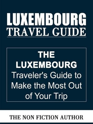 cover image of Luxembourg Travel Guide