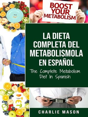 cover image of La Dieta Completa Del Metabolismo En español/ the Complete Metabolism Diet In Spanish