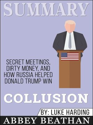 cover image of Summary of Collusion
