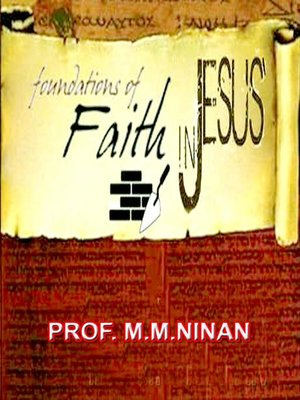 cover image of Foundations of Faith in Jesus Christ