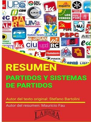 cover image of Resumen de Partidos y Sistemas de Partidos