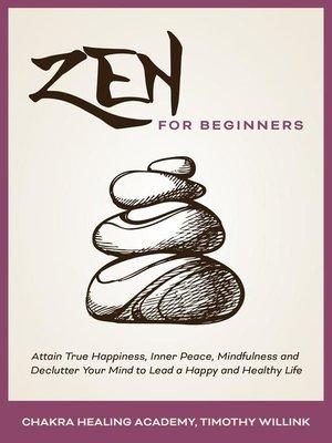 cover image of Zen for Beginners