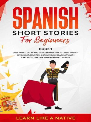 cover image of Spanish Short Stories for Beginners  Book 1