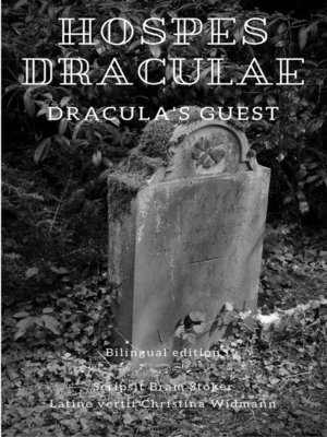 cover image of Hospes Draculae--Dracula's Guest