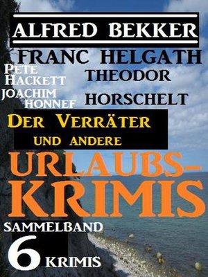 cover image of Sammelband 6 Krimis
