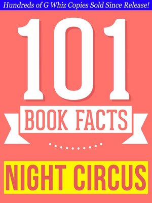 cover image of The Night Circus--101 Amazingly True Facts You Didn't Know