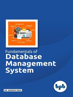 cover image of Fundamental of Database Management System