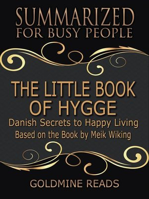 cover image of The Little Book of Hygge--Summarized for Busy People