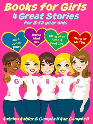 cover image of Books for Girls--4 Great Stories for 8 to 12 year olds