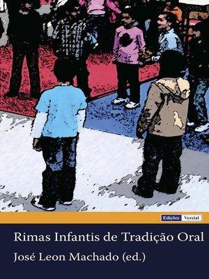 cover image of Rimas Infantis de Tradição Oral