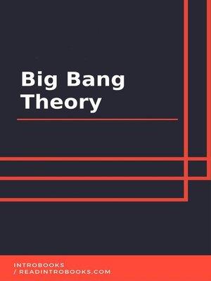 cover image of Big Bang Theory