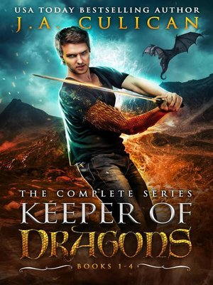 cover image of Keeper of Dragons