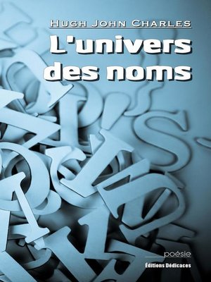 cover image of L'univers des noms