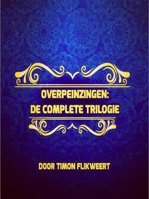 cover image of Overpeinzingen