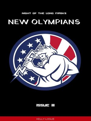 cover image of Night of the Long Masks (New Olympians, Issue 3)