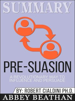 cover image of Summary of Pre-Suasion