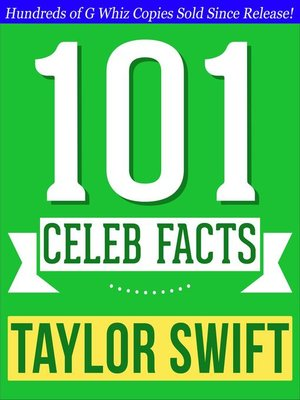 cover image of Taylor Swift--101 Amazing Facts You Didn't Know