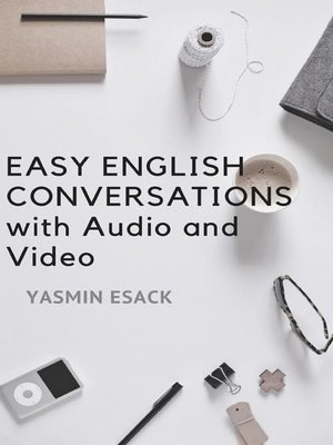 cover image of Easy English Conversations with Audio and Video