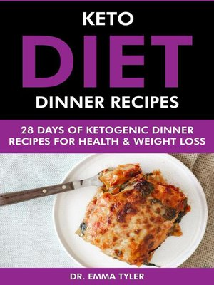cover image of Keto Diet Dinner Recipes