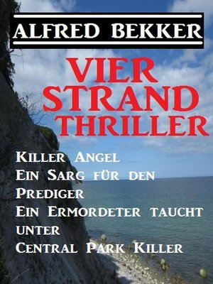 cover image of Vier Strand Thriller