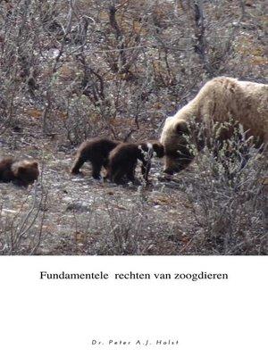cover image of Fundamentele rechten van zoogdieren