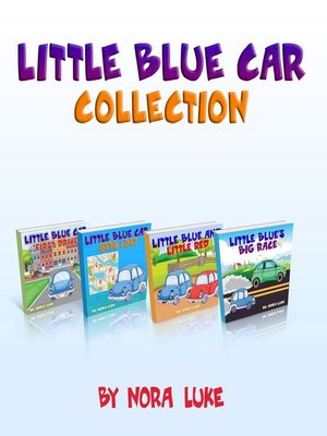 cover image of Little Blue Cars Series-Four-Book Collection