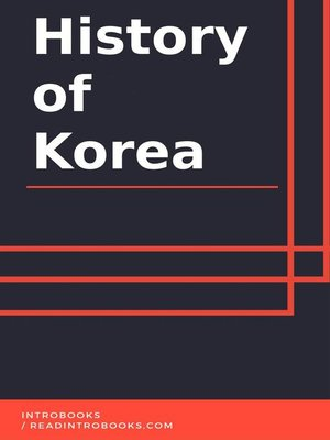 cover image of History of Korea