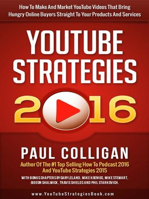 cover image of YouTube Strategies 2016