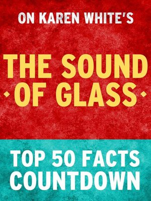 cover image of The Sound of Glass