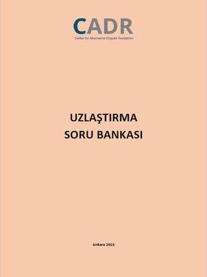 cover image of CADR Uzlaştırma Soru Bankası