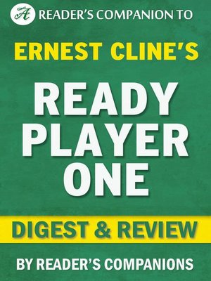 cover image of Ready Player One by Ernest Cline