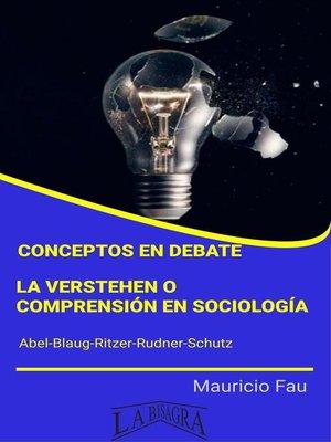cover image of Conceptos en Debate