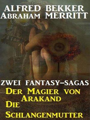 cover image of Zwei Fantasy Sagas