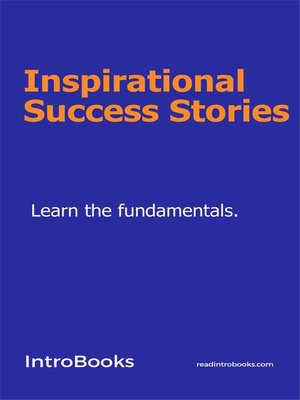 cover image of Inspirational Success Stories