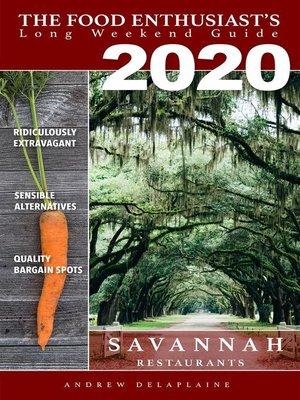 cover image of 2020--Savannah Restaurants