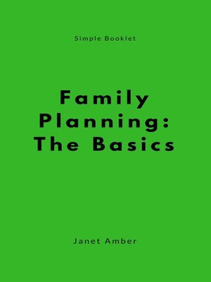 cover image of Family Planning